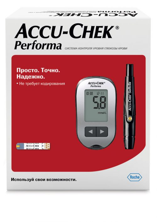 Accu chek performa glucometer