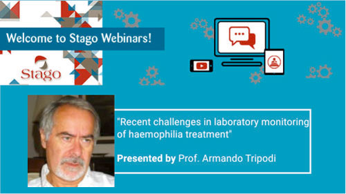 Welcome to Stago Webinar