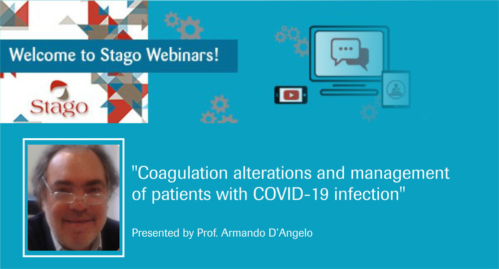 Stago webinar about Covid-19