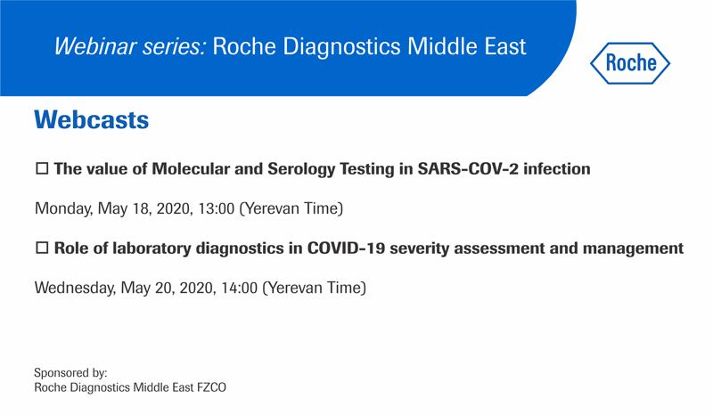 Webinar series Roche Diagnostics Middle East