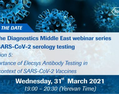 Roche Diagnostics webinars
